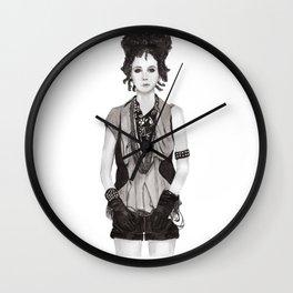 Dope Drape Wall Clock