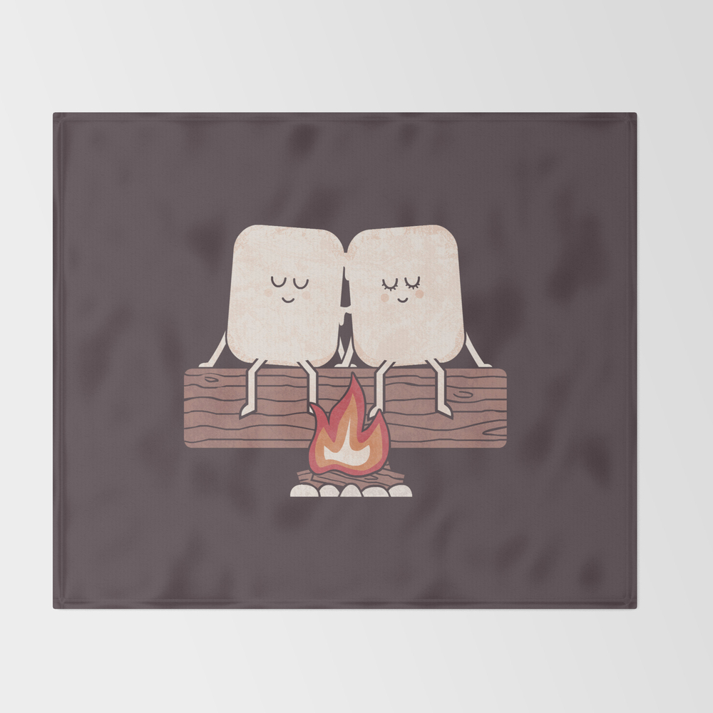 I Melt With You Throw Blanket BLK8653650