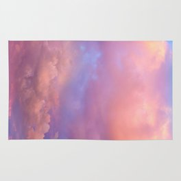 See the Dawn (Dawn Clouds Abstract) Rug