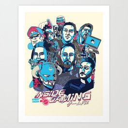 Inside Gaming Art Print