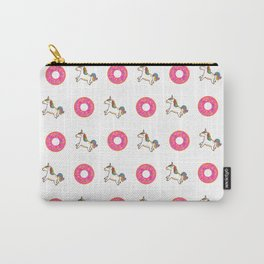 Awesome unicorns and donuts Carry-All Pouch