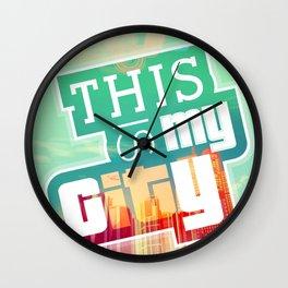 THIS IS MY CITY - Meet you in Los Santos! Wall Clock