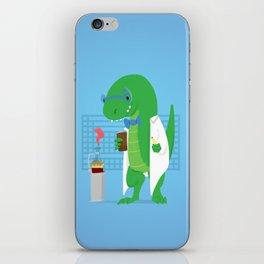 Dinosaur Scientist iPhone Skin