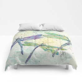 Xena's Dragonfly Comforters