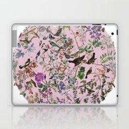 Bird menagerie mauve Laptop & iPad Skin