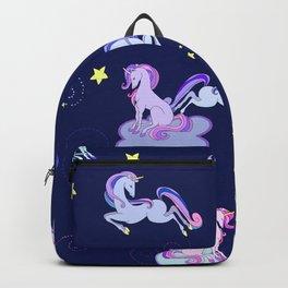 Midnight Unicorns Backpack