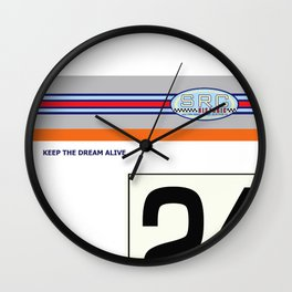 SRCPreparations 3.0 CSL No24 Carter Wall Clock