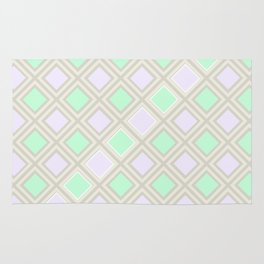 A squares game Rug