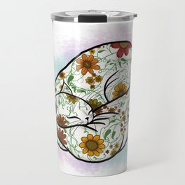 Pretty Cat Nap Travel Mug