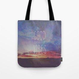 good vibes, good days Tote Bag