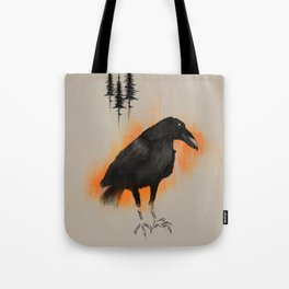 Raven from Blackforest Tote Bag