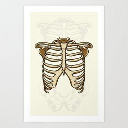 Thorax Art Print