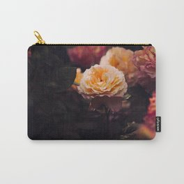 Bouquet Of Sunset Yellow orange Purple Flowers Carry-All Pouch