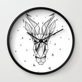 Springboks Wall Clock