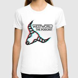 Cow Skull Glitch (Westworld The Podcast) T-shirt