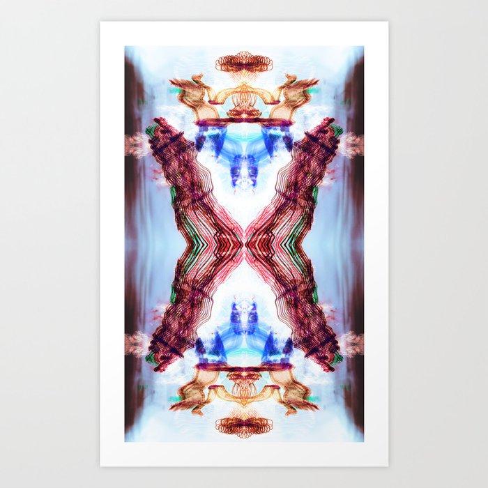 Torrent Art Print