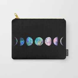 Peacock Opal Moon Cycle Carry-All Pouch