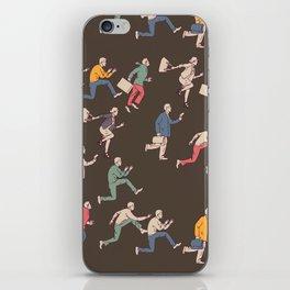 hurry up! iPhone Skin