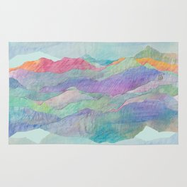 Everything Beautiful- Mountain Rug