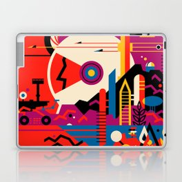 Fantasy Tour of Mars Laptop & iPad Skin
