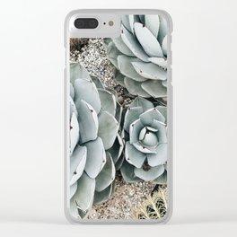 Venice Beach Flora Clear iPhone Case