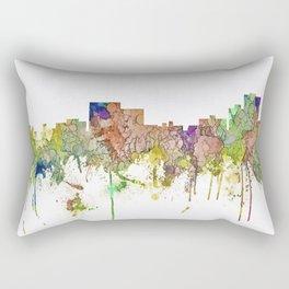 Chatanooga, Tennessee Skyline SG - Faded Glory Rectangular Pillow