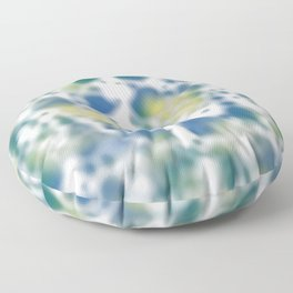 Impression of glimpses of light Floor Pillow