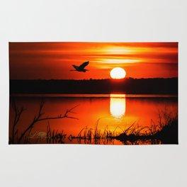 Early Spring Sunrise Rug