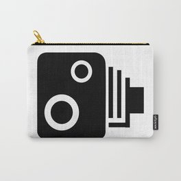 Isolated Speed Camera Carry-All Pouch