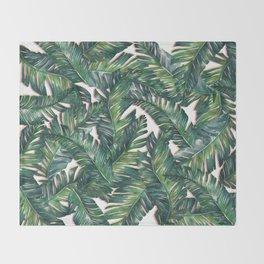 banana leaf 3 Throw Blanket