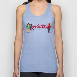 Revolution With A Captial R Unisex Tank Top