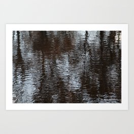 Past Impression Art Print