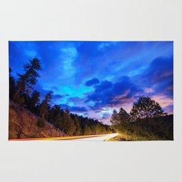 Colorado Highway 7 To Heaven Rug
