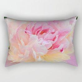 Joy of a Peony by Teresa Thompson Rectangular Pillow