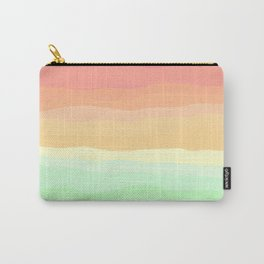 Ice Cream Pastel Rainbow Carry-All Pouch