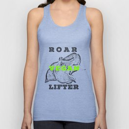 Roar Vegan Lifter Elephant Unisex Tank Top