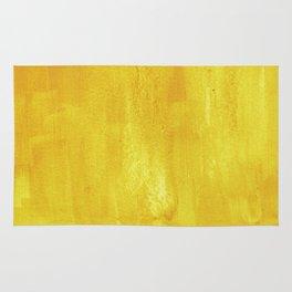Brushed Yellow Rug