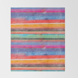 cosmic serape I Throw Blanket
