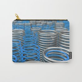 Plastic and metal springs and coils Carry-All Pouch