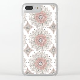 Bohemian Elephant Clear iPhone Case