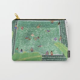 Green Riad Carry-All Pouch