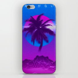 Vaporwave iPhone Skin