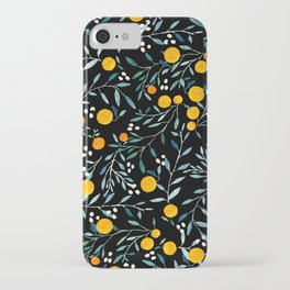 Oranges Black iPhone Case