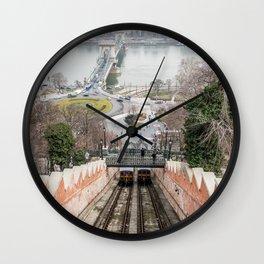 Funicular. Wall Clock