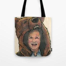 Bear Suit Marc Tote Bag