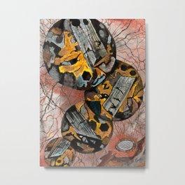Basalt Mineral Microscope Metal Print