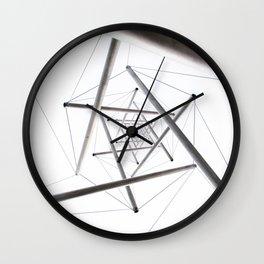Infinite Geometry Wall Clock