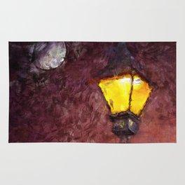 Lamp And Moon Rug