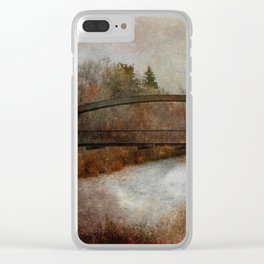 An Autumn Day Clear iPhone Case
