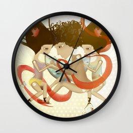 Doll Sunkissed Bipolar Love Wall Clock